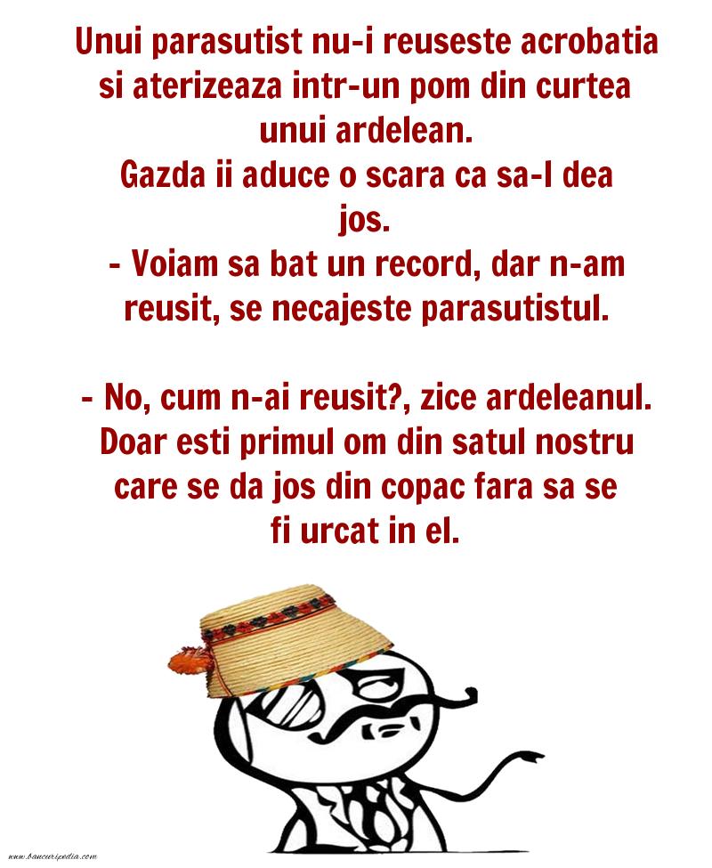 Bancuri cu Ardeleni - Record