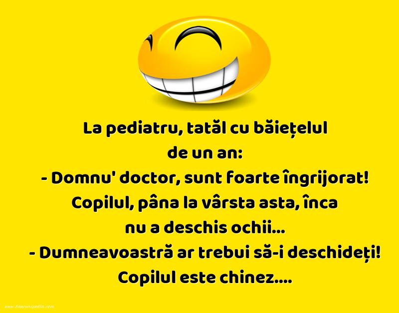 Bancuri cu Doctori - Copilul chinez