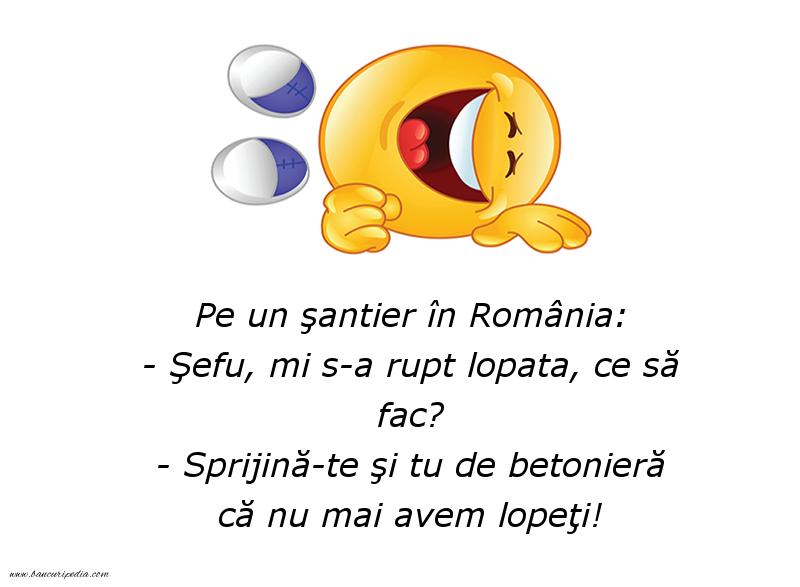 Glume - Pe un şantier în România