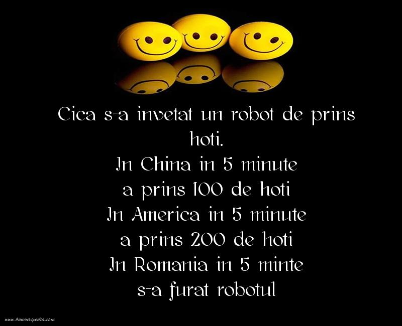 Glume - Robot de prins hoti