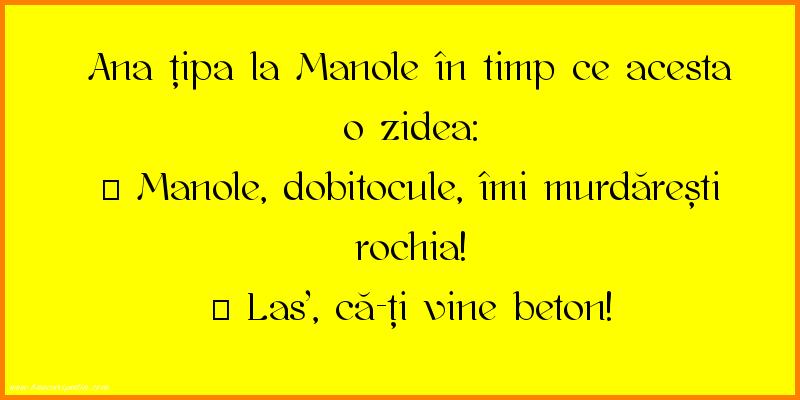 Glume - Ana si Manole