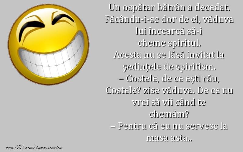 Glume - Spirit de ospatar