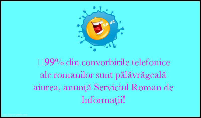 Glume - Serviciul Roman de Informaţii