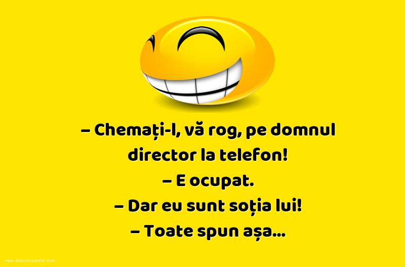 Glume - Domnul director