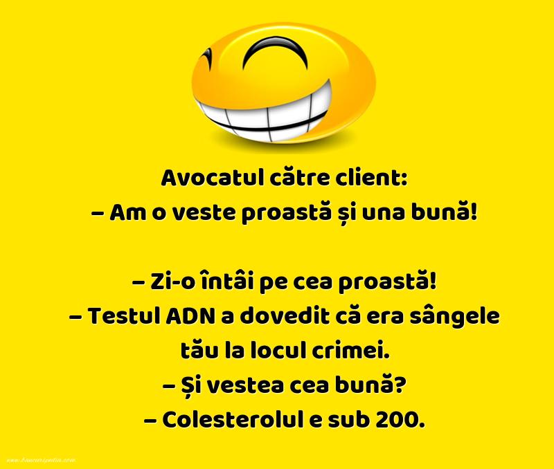 Glume - Vestea buna