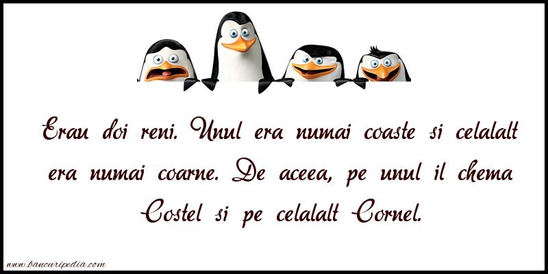 Glume - Costel si Cornel
