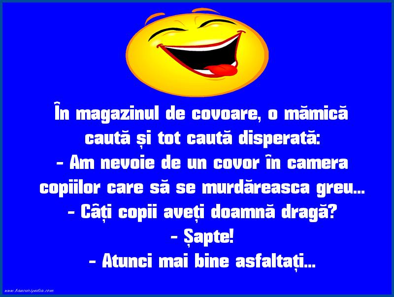 Glume - Covor asfaltic