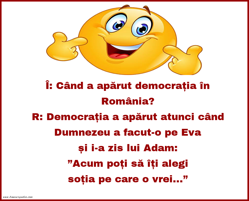 Glume - Adam si democratia