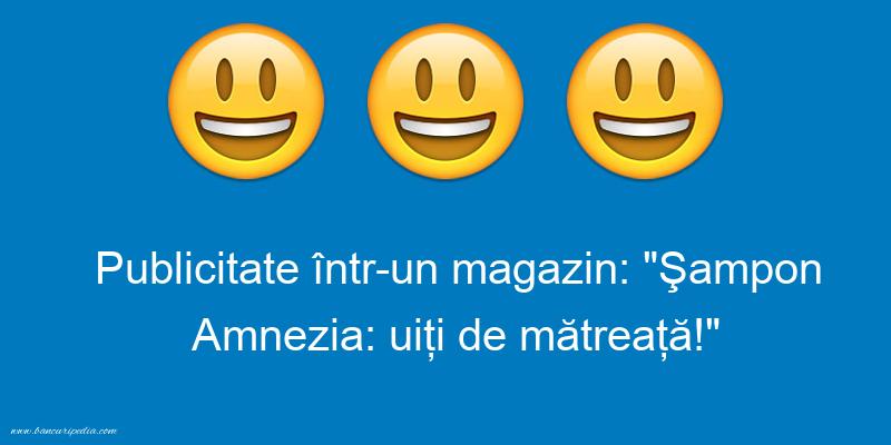 Glume - Publicitate