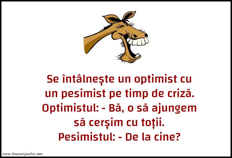 Glume - Optimistul si pesimistul in timpul pandemiei