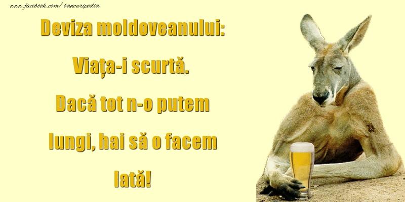 Bancuri cu Moldoveni - Deviza moldoveanului
