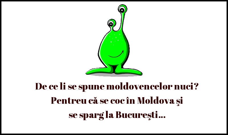 Bancuri cu Moldoveni - De ce li se spune moldovencelor nuci
