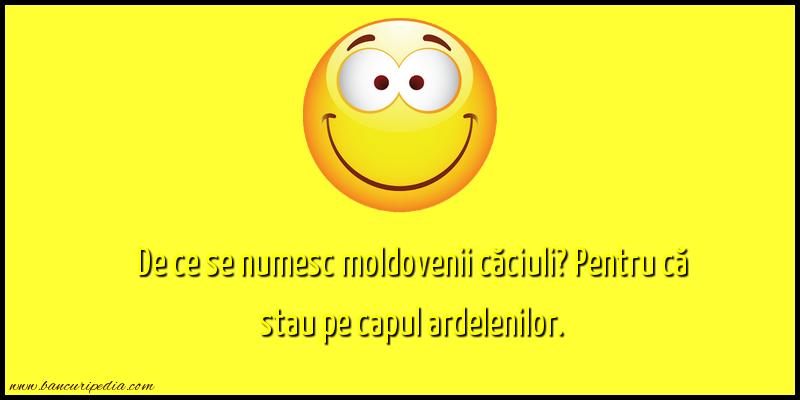 Bancuri cu Moldoveni - Caciuli