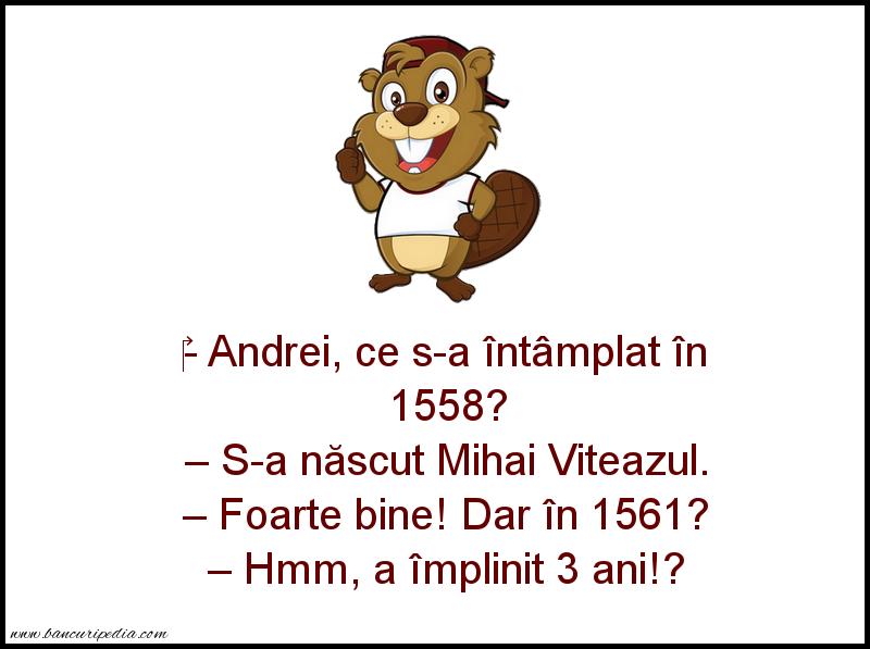 Bancuri cu Şcoală - 1561