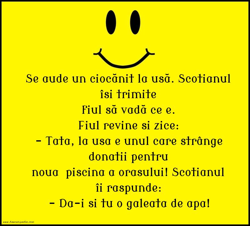 Bancuri cu Scotieni - Donatie